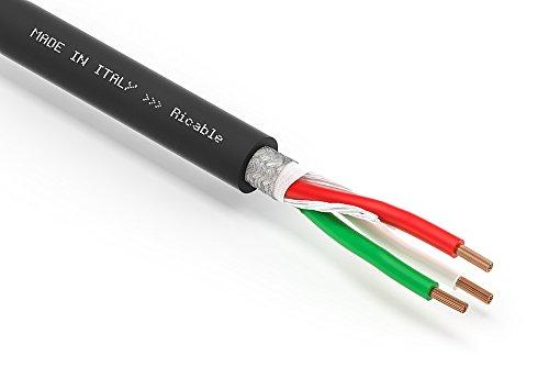 Ricable Custom U4P al metro - Cavo di Alimentazione Hi-Fi Schermato 3 x 4 mmq