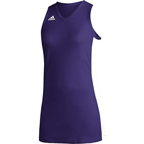 adidas Team N3xt Prime Game Jersey - Women's Basketball XL Team Collegiate Purple/White