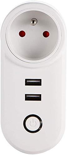 Smart Plug, Smart Socket, Afstandsbediening, Schema en Timer-functie Smart Socket WiFi Timing Smart Home Switch Socket Mobile Phone Controle op afstand bedienbare stekker,dsnmm