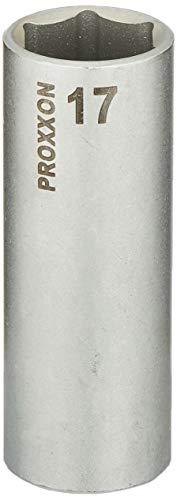 PROXXON 23546 Tiefbett Steckschlüsseleinsatz / Nuss 17mm Antrieb 10mm (3/8