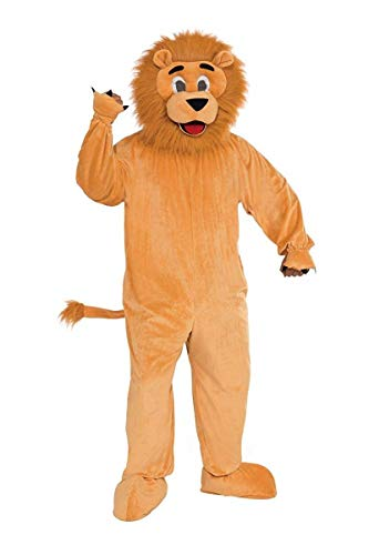 Forum Promotional Mascot Lion, Gold, Standard Costume
