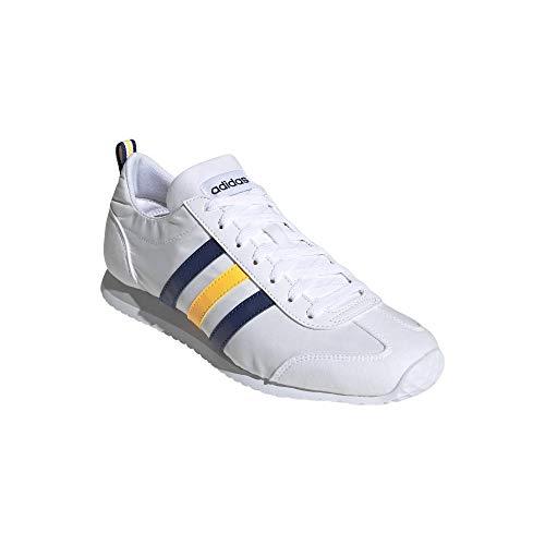 adidas VS Jog, Zapatillas para Hombre, FTWBLA/INDTEC/Dorsol, 47.33 EU