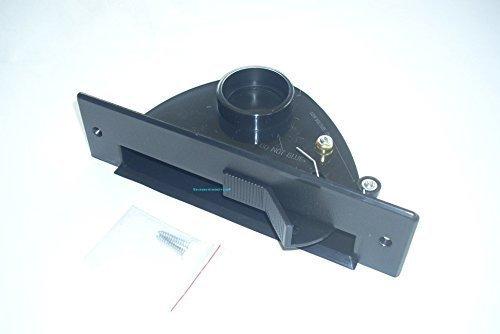 Zentralstaubsauger Einkehrdüse Kehrschaufel saugende Kehrschaufel mit Kippmechanik in Schwarz für BVC S-Serie/Compact-Serie/Junior-Serie geeignet