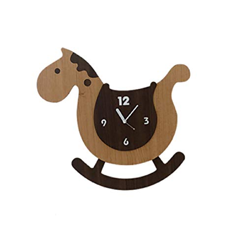 Mubgo Wandklokken Swing Wall Clock Cartoon Leuke Children Bedroom Mute Clocks Wall Watches Guess Women Home Decor Mechanisme Silent