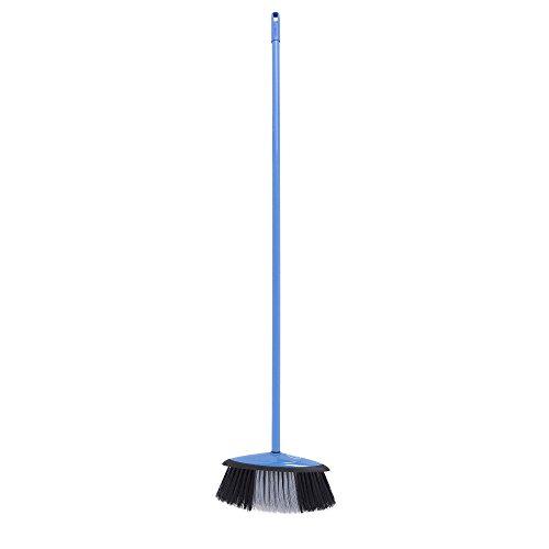 Mery 0144.14-Scopa elettrica Liscia con Bastone, Colore: Blu