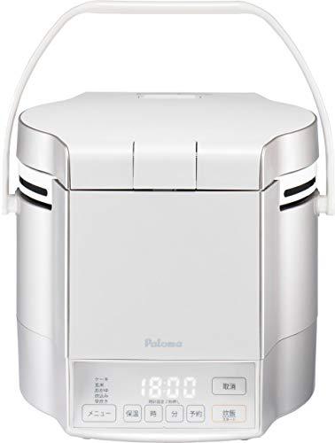 パロマ ガス炊飯器 炊きわざ PR-M09TV -13A (0.9L/5合炊き) 【都市ガス12A/13A用】プレミアムシルバー×アイボリー