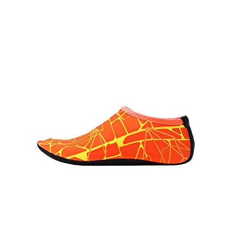 Calcetines de agua para hombres y mujeres Barefoot Speed Dry Yoga(B) naranja 3XL
