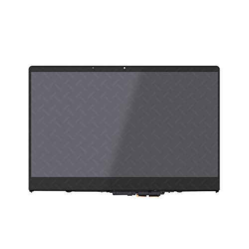 LCDOLED Replacement 15.6 inches FullHD 1080P IPS LCD Panel Touch Screen Digitizer Assembly with Bezel for Lenovo Yoga 710-15ISK 710-15IKB 80V5 80U0 80V50016US 80V50009US 80V50018US (1920x1080-30 Pins)