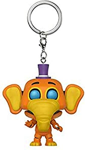 Funko Pop Keychain: Five Nights at Freddy's Pizza Simulator - Orville Collectible Figure, Multicolor