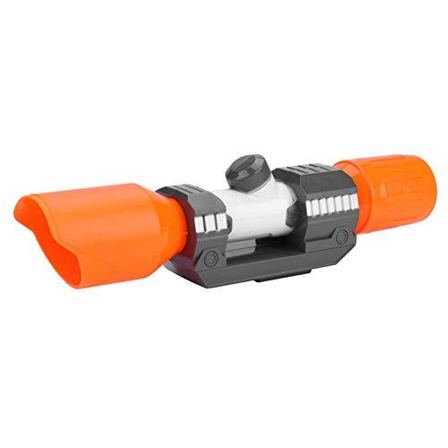 Yosoo Zielfernrohr für Spielzeugpistole, Visierbefestigung aus Kunststoff mit Absehenzubehör, Zielfernrohr für präzises Zielmodul