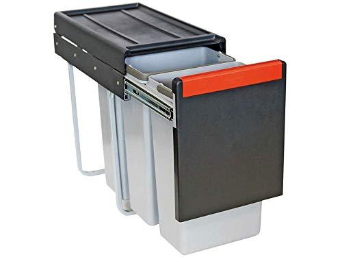 Franke Sorter Cube 30-134.0039.555 Abfallsammler 3 Müllbehälter Trennsystem