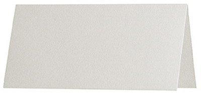 100 stuks - Artoz Serie 1001 premium tafelkaarten, geribbeld - 100 x 90 mm, hoogwaardig, ivoor