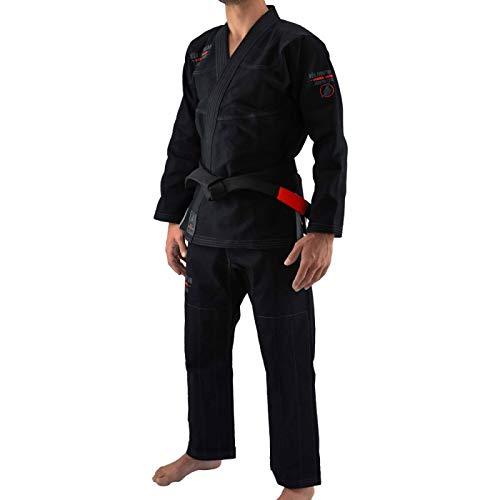 Bõa BJJ Gi Jogo no Chão Kimono de jiu Jitsu Hombre, negro, small