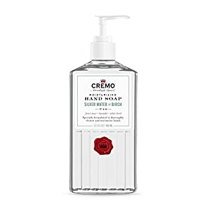 Cremo Silver Water & Birch Hand Soap,Thoroughly Cleanse Dirt & Oil, 13.5 Oz (2-Pack) 3