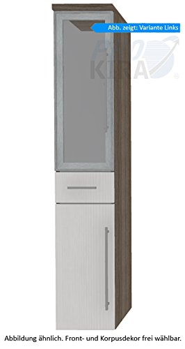 PURIS Kera Trends Armadio Alto (hna053b7ml/R) Mobile da Bagno, 30cm