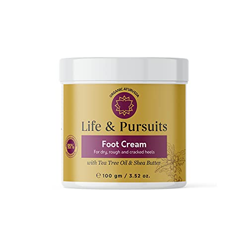 Life & Pursuits Foot Cream for Dry Cracked Feet (100 gm) - Softening...