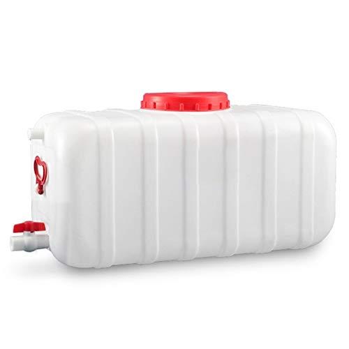 WYNZYYX Tanque de Agua en los hogares de la categoría alimenticia cubeta de Almacenamiento de Agua con Tapa de Cubo Cuadrado for portátil/Tierras de Cultivo/Industria/química (Size : 45L)