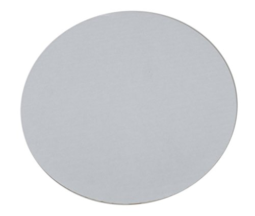 Southern Champion Tray 11317 10' Mottled Corrugated Uncoated Single Wall Cake and Pizza Circle, White (Case of 100)