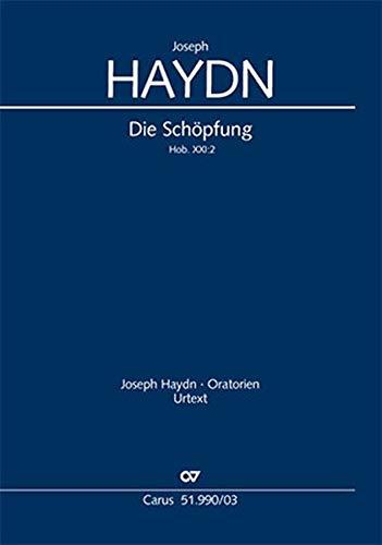 Die Schöpfung (Klavierauszug deutsch): Oratorium Hob. XXI:2, 1798