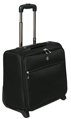 Tassia Business Laptop Roller Case - Large Stowage Area - 2 Wheel