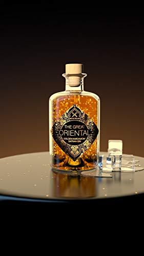 The Great Oriental Golden-Kardamom-Safran Gin - feinster Gin mit 23 Karat reinem Blattgold - intensiver Geschmack nach Safran und Kardamom