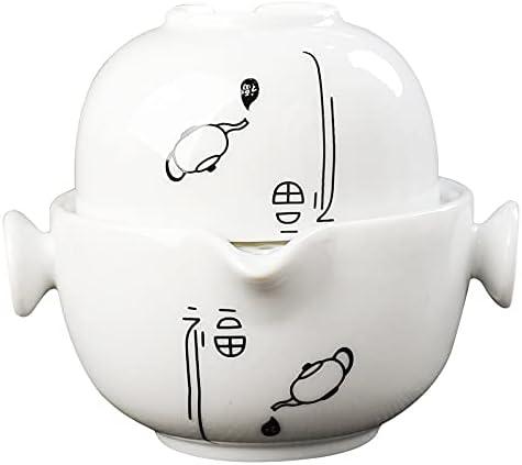 Ceramic Tea Set Including 1 Pot And Fresno Mall Elegant Cup Simple C Max 47% OFF