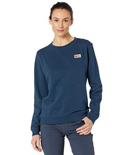 Fjällräven Vardag Sweater W Damen-Sweatshirt M blau