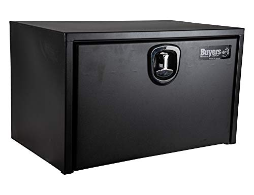 Buyers Products Textured Matte Black Underbody Truck Box, 18x18x30 Inches