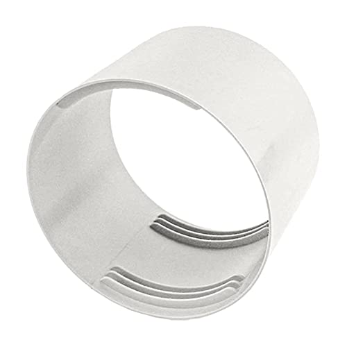 Auplew Connettore tubo di ventilazione ABS rotondo universale riduttore tubo di scarico tubo di scarico per condizionatore portatile