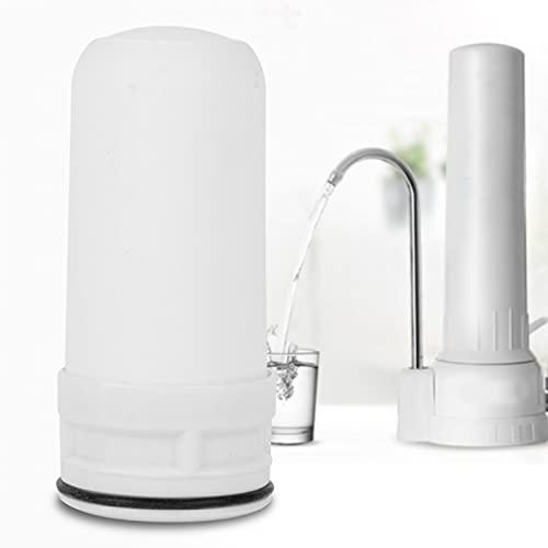Aoutecen Uso Generalizado Filtro de Agua de cerámica Material de cerámica Filtro purificador Hogar Saludable y Seguro Filtro de Agua Duradero Cocina para el hogar