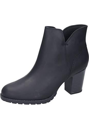 Clarks Verona Trish, Botas Slouch para Mujer, Negro (Black Leather), 39 EU