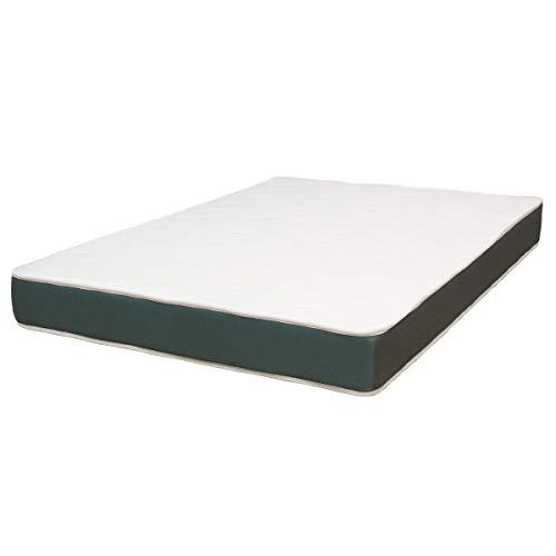 ConfortLas Colchón de Espuma HR Ondas Blanco, 90 x 190 cm
