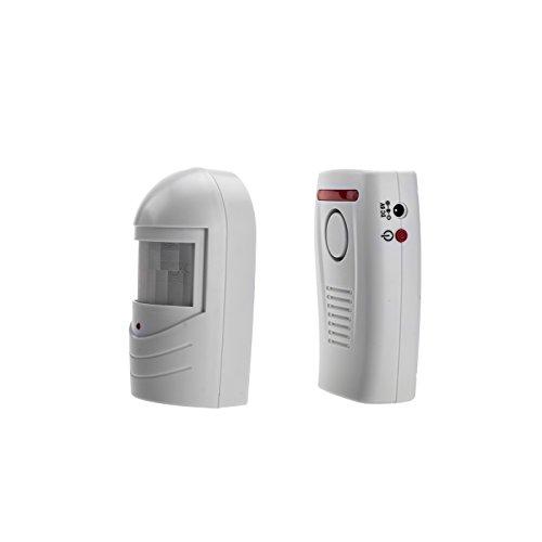 KOBERT GOODS - SP70 mit 1 Sensor drahtloser Wireless Durchgangsalarm Tür- und Fensteralarm Einsatz als Alarmanlage, Einbruchsschutz, Home-Security Reichweite bis zu 120 Meter [Energieklasse A]