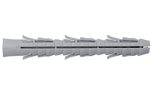Hohlsteindübel 8 x 80 mm ohne Senkbund 100 Stück Dübel