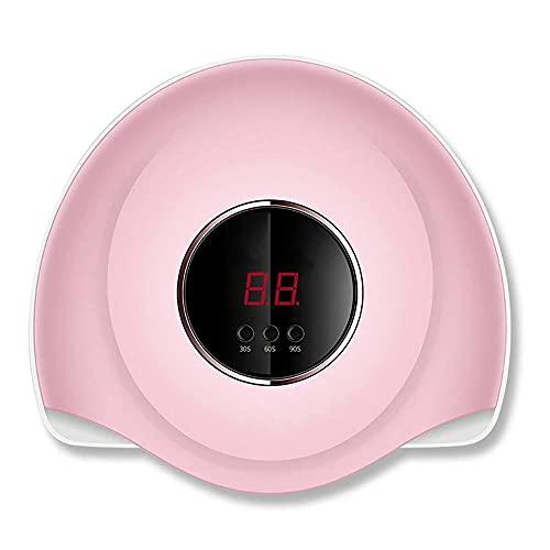 Lámpara uñas LED UV Secador uñas profesional 36W Para Gel Polish Curing con 3 ajuste temporizador y Energía USB Máquina curado uñas con sensor automático y pantalla LCD