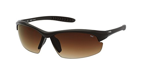 FILA Unisex SF8975736XKP Sonnenbrille, Shiny Full Brown, 73/3/125