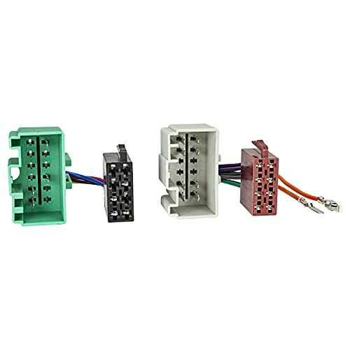 Radio-cable adaptador VOLVO 2000a ISO-connettore (corriente + parlantecon)