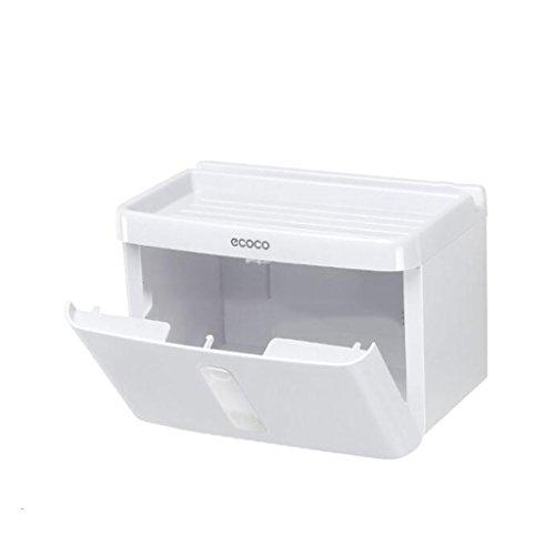 GWF Boîte de mouchoirs de Papier de Salle de Bains poinçonnage Gratuit Tube de Papier de Papier bac de Papier Toilette