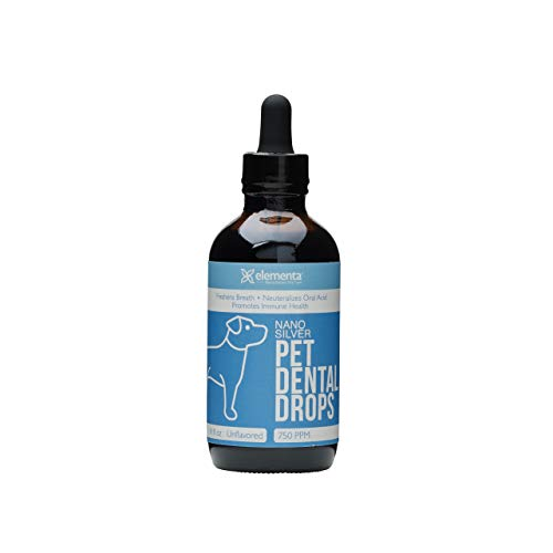 Elementa Natural Pet Dental & Immune Support Drops | 4 oz | Dentist...