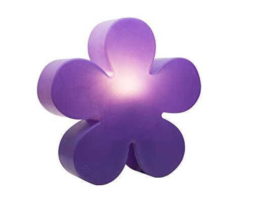 8 seasons design 32270 Douille à vis Edison E27 Fluocompacte (CFL) 60 cm Brillant, fleur violet