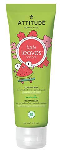 Price comparison product image Attitude Little Leaves Hypoallergenic & Natural Conditioner,  Watermelon & Coco,  8 Fl. Oz