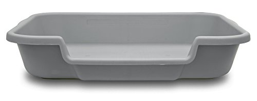 PuppyGoHere Dog Litter Box Recycled Gray Color: 24'x20'x5' Recycled Gray Colored Pans May Vary in Color. Marks May BE Present. See More Information in Description USA Made