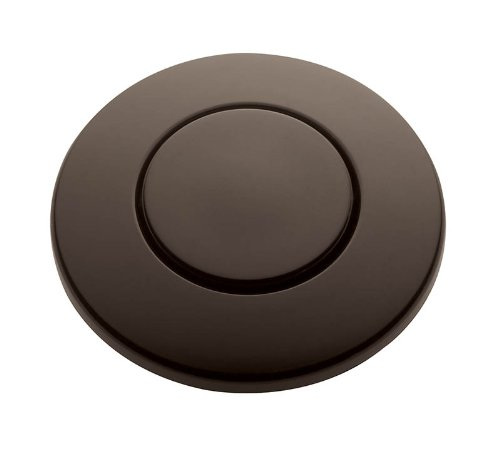 "InSinkErator STC-ORB Push SinkTop Switch Button, 1"" X 1 3/4"", Oil Rubbed Bronze"