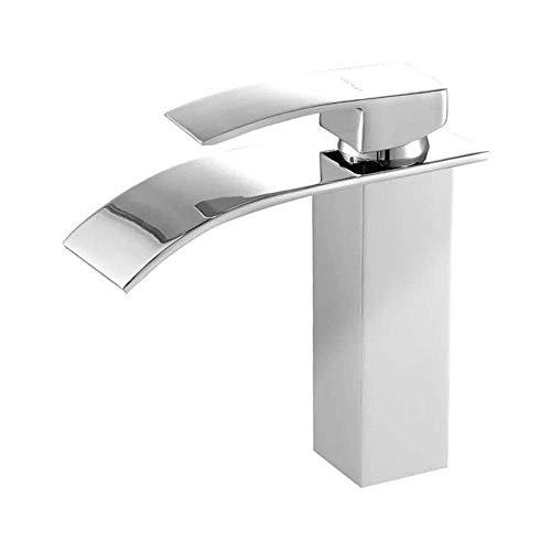 Europese antieke badkamer bad warm en koud wastafel wastafel wastafel koper douchecabine onder aanrecht wastafel kraan nuttig (Maat: kort)
