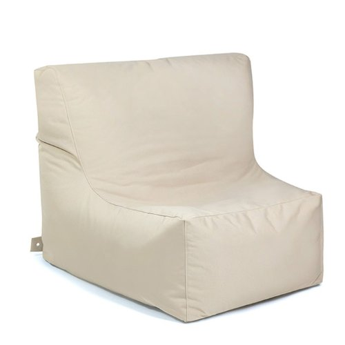 Global Bedding Outbag Sitzsack Piece Plus, Farbe beige, 90x115x62, 500L, 100% Polyester,
