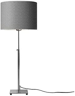 Ikea 201.908.34 Alang Table Lamp, Nickel Plated Gray
