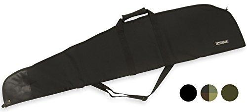 Nitehawk - Housse de transport pour fusil à air comprimé/fusil de chasse - rembourré - large - Noir