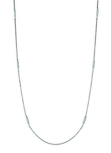LIEBESKIND BERLIN Damen-Halskette Edelstahl mattiert 95 cm