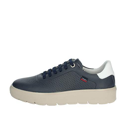 CALLAGHAN Zapatillas Bajas para Hombre, Color Azul, 45505 Turquesa 40