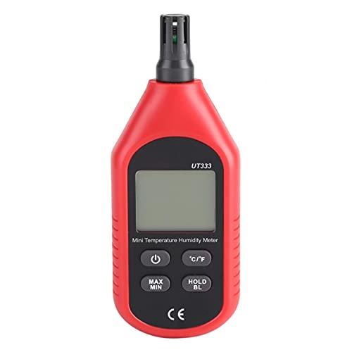 Termómetro Digital de Chip de Baja energía ampliamente Utilizado Higrómetro Termómetro Higrómetro Temperatura del Aire Medidor de Humedad Portátil para Bodega Jardín Nevera